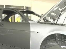 Drukvoegen in de autoindustrie, bron BMW